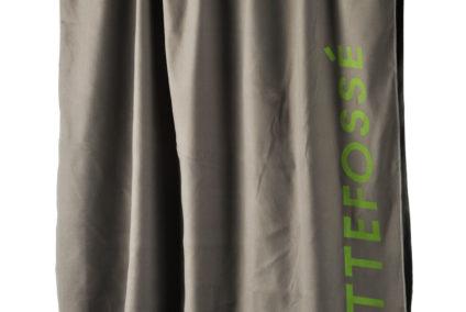 Asciugamano in microfibra personalizzato con serigrafia a 1 colore