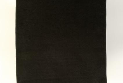 Esempio di telo mare realizzato in cotone con trama a damina personalizzato con banda strabattuta ad 1 colore