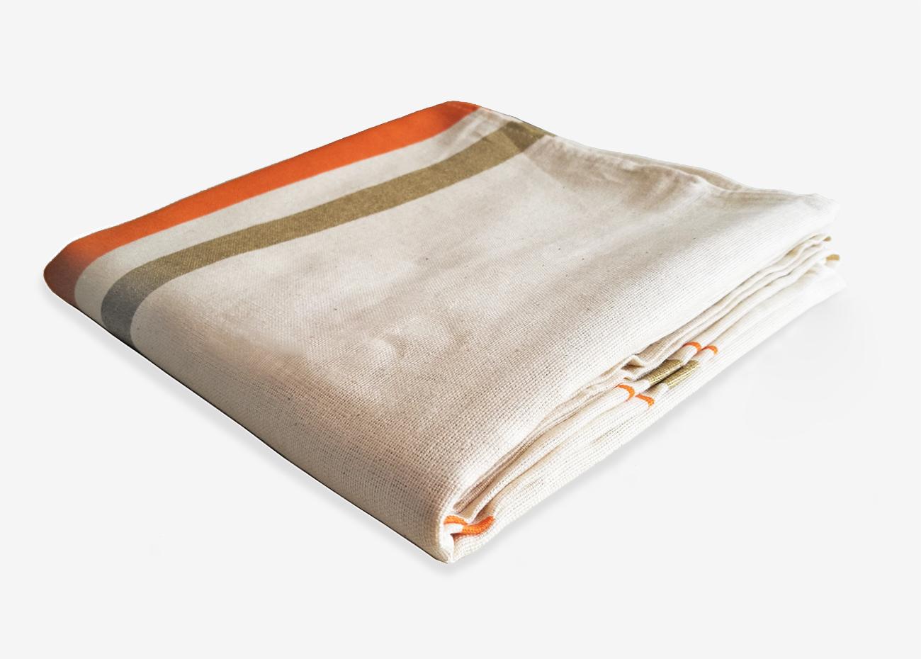 Dettaglio telo in cotone india personalizzato